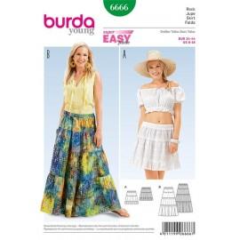 Jupe Burda Young n°6666