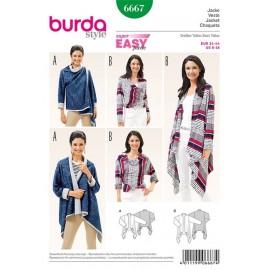 Veste Burda n°6667