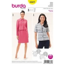 Veste Burda n°6669