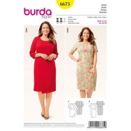 Robe Burda n°6675