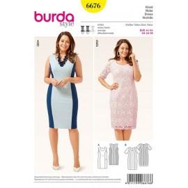 Robe Burda n°6676