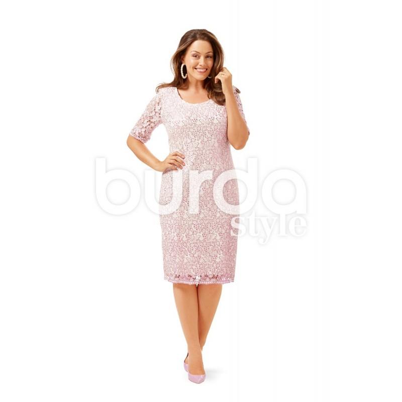 Dress Burda N 6676 Ma Petite Mercerie