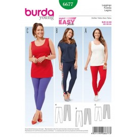 Leggings Burda Young n°6677