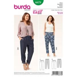 Pants Burda n°6678
