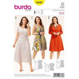 Robe Burda n°6680