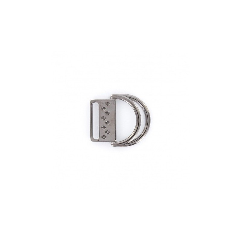 9f2afa0bd1dc Boucle de ceinture double anneau - métal - Ma Petite Mercerie