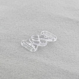 Attache maillot de bain trèfle transparent