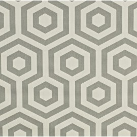 ♥ Coupon 300 cm X 130 cm ♥ Varnished and coated cotton fabric Hex - stone