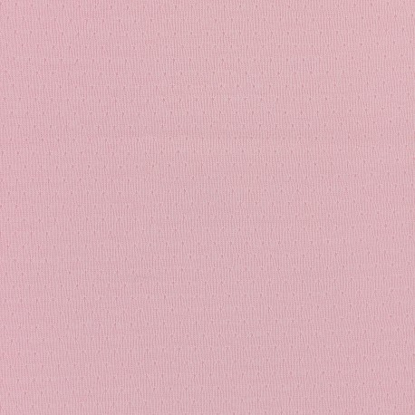Openwork Jersey Fabric France duval - pink x 10cm