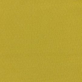 Tissu jersey ajouré France Duval - banane x 10cm
