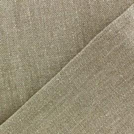 Tissu épais lin Linobel - naturel zéphir x 10cm