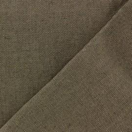 Tissu épais lin Linobel - gris zéphir x 10cm