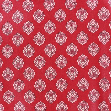 Tissu enduit coton Regalido Mouche - raspberry x 10cm