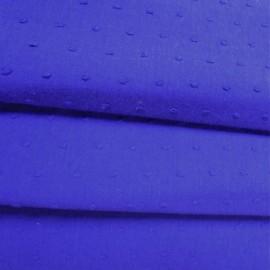 Tissu Plumetis indigo x 10cm