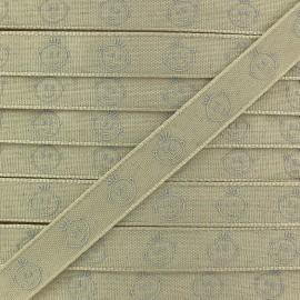 Ruban tête d'enfant - beige x 1m