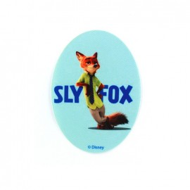 Thermocollant  Zootopie toile ovale -Nick Wilde SLY FOX