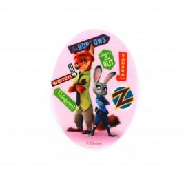 Thermocollant  Zootopie toile ovale -Judy & Nick Z