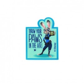 Iron on patch Zootopie Judy Hopps PAWS