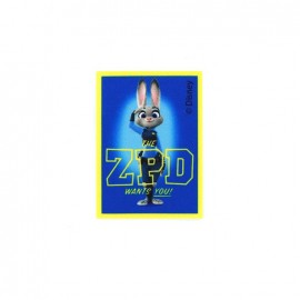 Thermocollant Zootopie toile - Judy Hopps ZPD