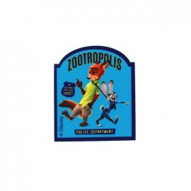 Thermocollant Zootopie toile -  Judy & Nick ZOOTROPOLIS