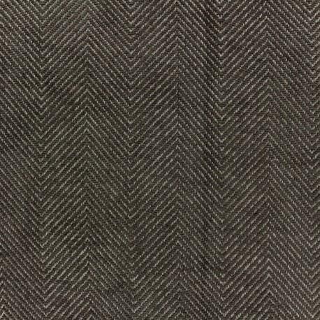 Tissu jacquard Masym - taupe x 10cm