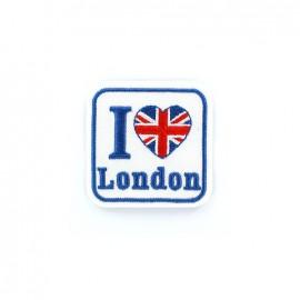 Thermocollant Découverte brodé - I LOVE LONDON