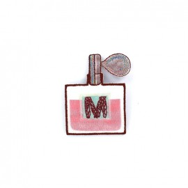 Embroidered iron on patch Parfum - D