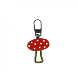 Zipper pull Prym  - Mushroom