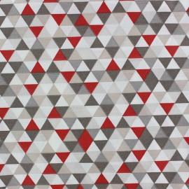Trimix cotton fabric - taupe/beige x 10cm