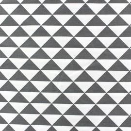 ♥ Only one piece 170 cm X 160 cm ♥ Trimix cotton fabric - anthracite