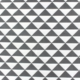 Trimix cotton fabric - anthracite x 10cm