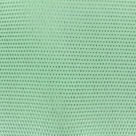 Simili cuir Fusion - vert d'eau/argent x 10cm