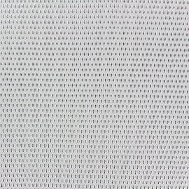 Simili cuir Fusion - écru/argent x 10cm