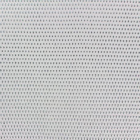 Imitation leather Fusion - ecru/silver x 10cm