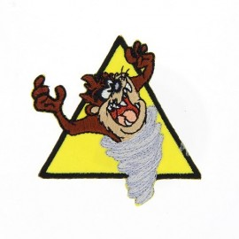 Embroidered iron on patch  Warner Bros  - Taz