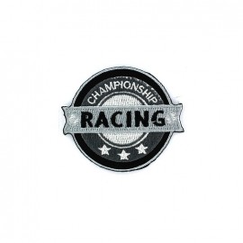 Thermocollant Blason Patch Homme brodé - RACING