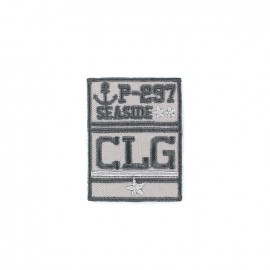 Embroidered iron on patch Blason Patch Homme - CLG