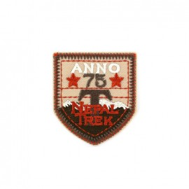 Embroidered iron on patch Blason Patch Homme - ANNO 75
