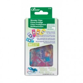 1 Set of 50 wonderclips Prodiges - multicolored