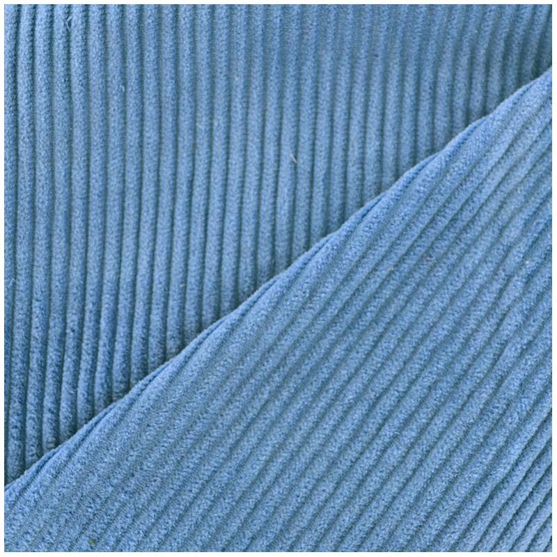 Tissu velours grosses c tes bleuet x10cm ma petite mercerie - Velours grosses cotes ...