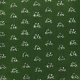 Tissu London Calling 6 - Olive x 10cm
