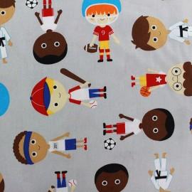 Tissu Sports kids - aventure  x 59cm