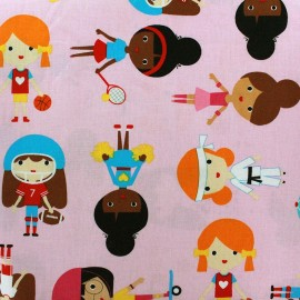 Sports Kids fabric - Sweet x 59cm