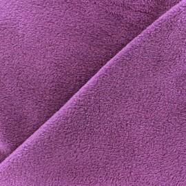 Tissu Polaire violet x10cm