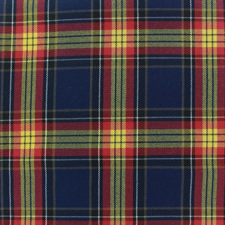 Scottish tartan fabric - Dawel x 10cm