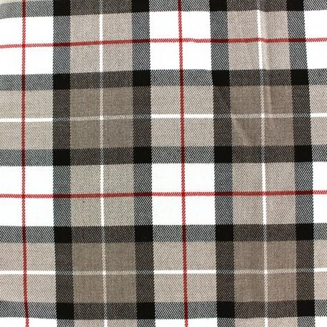 Tissu tartan écossais - Langholm x 10cm