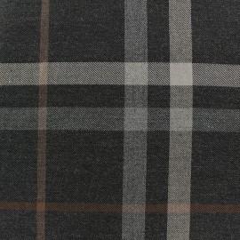 ♥ Coupon 20 cm X 140 cm ♥ Scottish tartan fabric - Blackwood