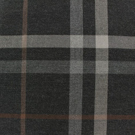 Scottish tartan fabric - Blackwood x 10cm