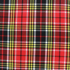 ♥ Coupon 70 cm X 140 cm ♥ Tissu tartan écossais - Kelso