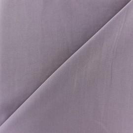 Tissu fluide effet soie lavée - lilas x 10 cm